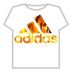 adidas logo fire [transparent] roblox
