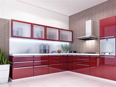 kitchen modular designs modular kitchen designs red white peenmedia com