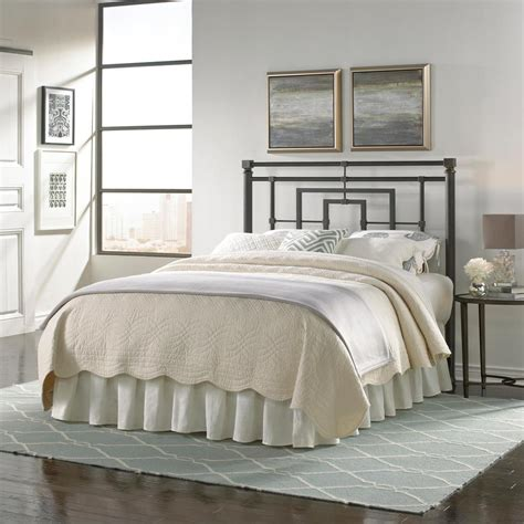 steel bed headboard fashion bed group sheridan king size metal headboard with