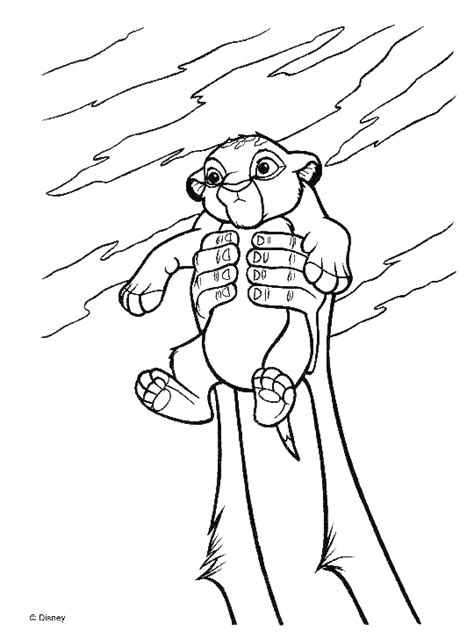 Free Coloring Pages Of Simbas Pride 2 The King 2 Coloring Pages
