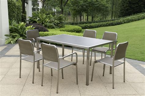 steel or aluminum patio furniture the best materials for outdoor furniture