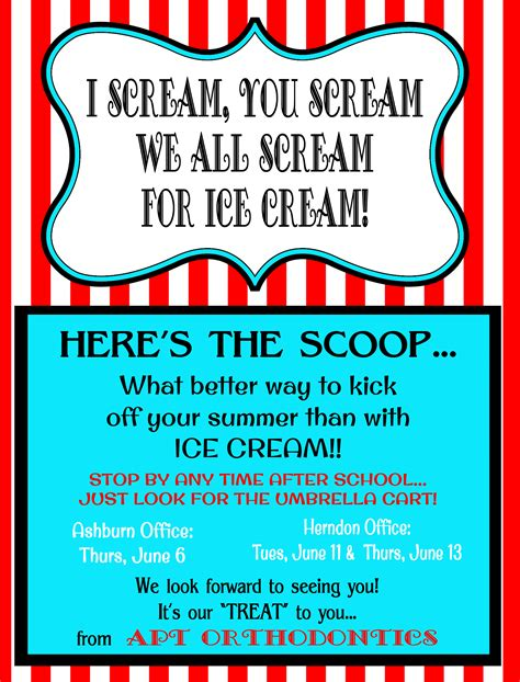 printable event poster ice cream social flyer template ice cream social flyer