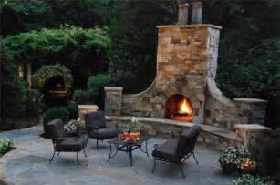 prefab outdoor fireplace cavareno home improvment