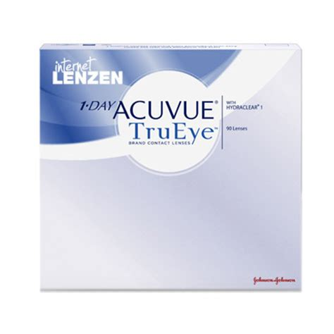 acuvue 1 day trueye 90 pack, daily lenses | internet lenzen