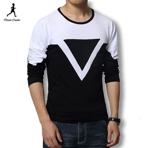 Louis Casual Design V Neck T Shirts Ungu Tua sleeve t shirts cheap is shirt