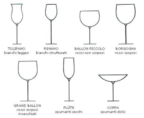 galateo bicchieri bicchiere tulipano vino fiori idea immagine