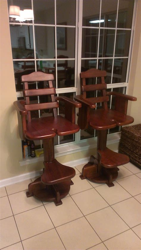 Boat Chair Bar Stools by Fighting Chair Bar Stools The Hull Boating And