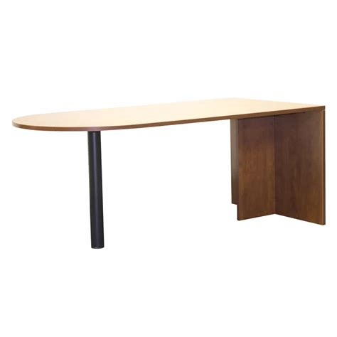 Laminate Office Desk Laminate Office Bullet Desk Shell The Furniture Family