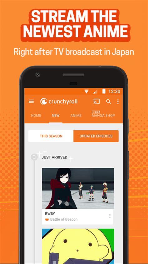 crunchyroll apk crunchyroll everything anime apk android entertainment apps