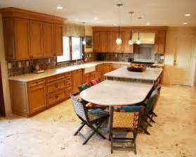Two Level Kitchen Island Designs two level kitchen island houzz