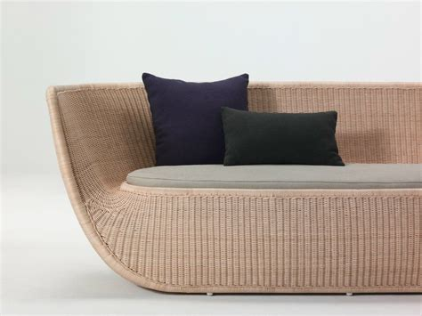 bamboo loveseat stylish designs showcase the elegance of rattan furniture