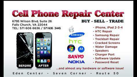 cell phone repair business card template cell phone repair