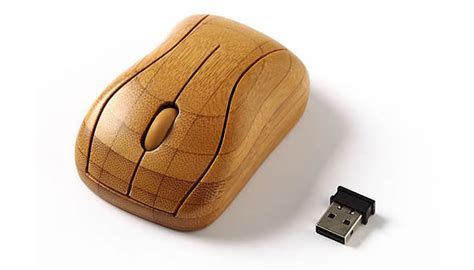 Bamboo Mouse 1 bamboo peripherals make a return courtesy sanyo