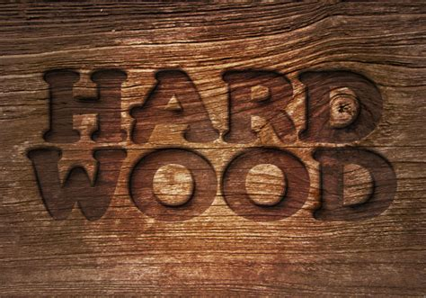 photoshop tutorial logo in wood more photoshop text tutorials themissy com