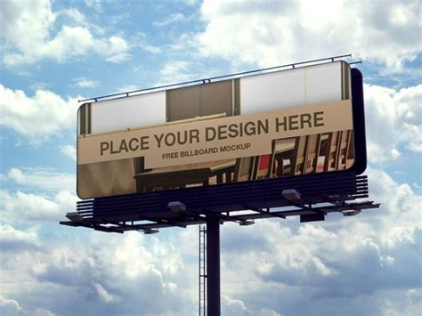billboard mockup template free 70 free outdoor advertisment branding mockup psd files