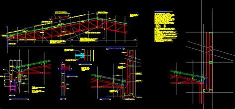 detalles de armaduras techos metalicos  kb