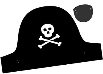 pirate hat template to print search results for printable cut out pirate hat