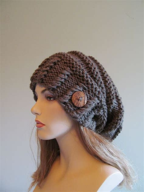 slouchy beanie slouch hats oversized baggy beret button