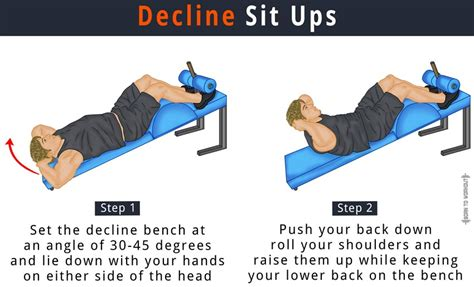 sit up bench benefits decline crunches sit ups how to do benefits forms