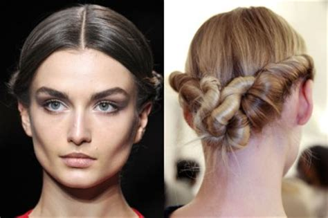 Hairstyle Books For 70 by Wedding Hairstyles Valentino Fall 2012 70s Roll Studio