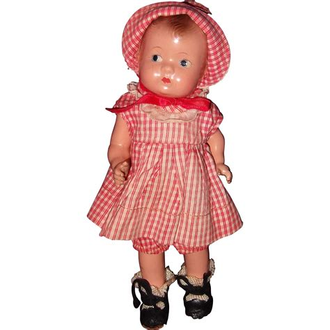 effanbee composition doll effanbee factory tinyette composition doll from