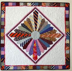 Quilt Made From Ties by Tie Quilts Rhino Quilting