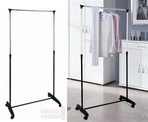 Jual Rak Pakaian Laundry rak gantung baju rgpc display toko baju jual manekin aksesoris baju harga grosir