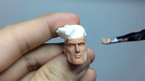 figure paint how to paint custom figure heads gambit