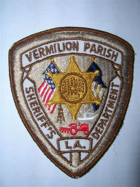 Vermilion Parish Sheriff S Office by Mike Snook S Patch Collection State Of Louisiana