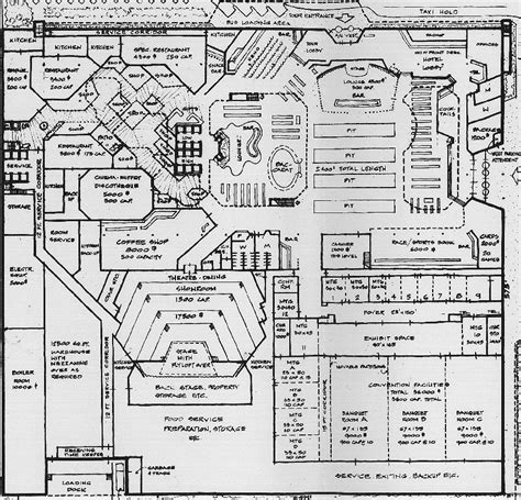 Las Vegas Casino Floor Plans Paradise Misplaced Inside The Xanadu