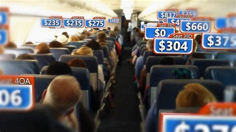 airline ticket prices shown to vary wildly among seats on the same flight abc news