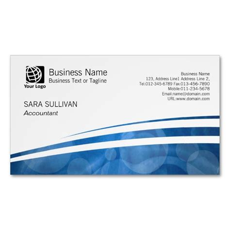 financial services business card template 1000 images about accountant business cards on
