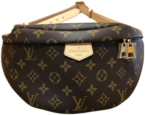 louis vuitton bumbag lv monogrambrown coated canvas