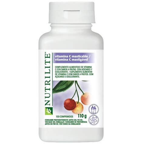 Vitamin Nutrilite X Nutrilite Vitamina C Mastig 225 Vel Amway Saude