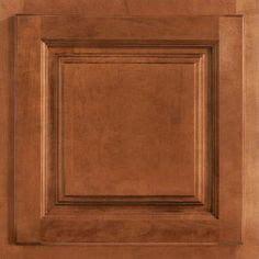 american woodmark cabinets home depot 13x12 7 8 in cabinet door sle in ashland maple cognac