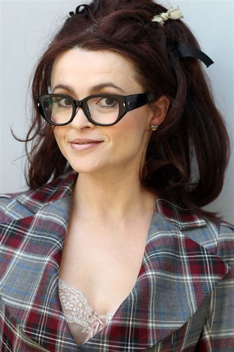actor with thick rimmed glasses helena bonham carter in thick rimmed glasses she s got