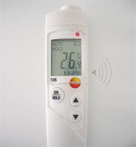 testo in testo 106 levensmiddelen thermometer levensmiddelen