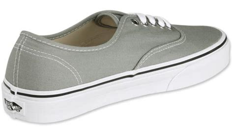 Vans Authentic Grey White vans authentic shoes grey white