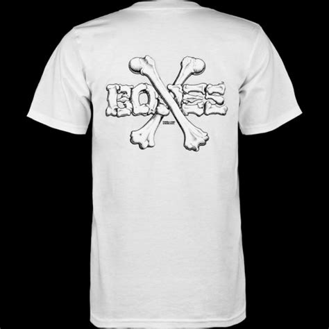 Bones T Shirt powell peralta cross bones t shirt white powell peralta 174