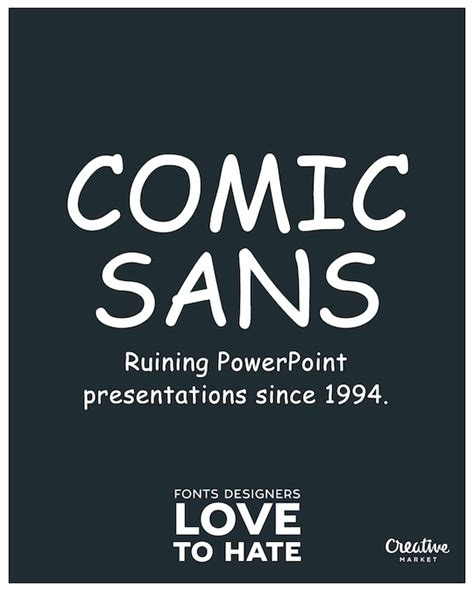 share font design quotes 11 fonts that designers love to hate