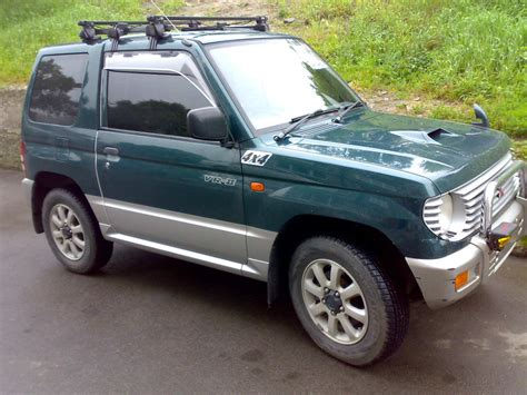 mitsubishi mini dimensions 1995 mitsubishi pajero mini pictures information and