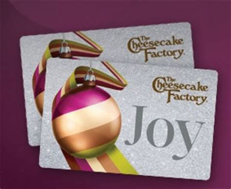 Cheesecake Factory Gift Card 2 Free Slices - the cheesecake factory hot 2 free slices of cheesecake w 25 gift card purchase