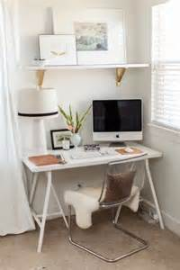 Creative Desk Ideas For Small Spaces 19 Astuces Pour Rendre Vos Meubles Ikea Chics Tendance