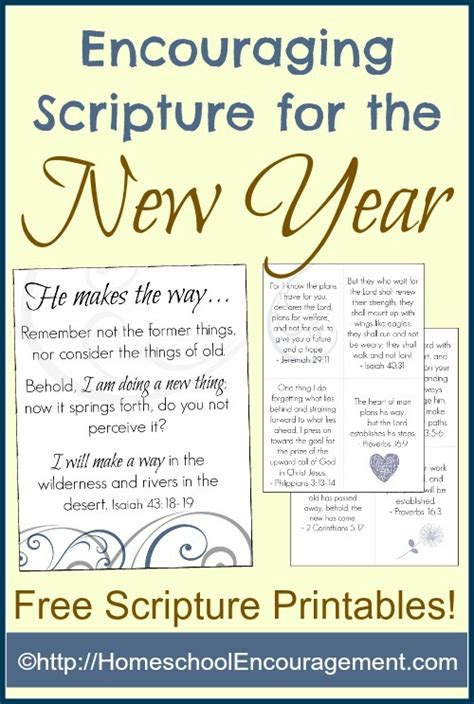 for new year encouraging scripture for the new year free printables