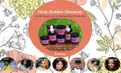 Natural Hair Giveaway - l a c e natural hair products curly goddess giveaway alicia ever after