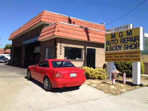 mgm auto repair body shop auto repair torrance