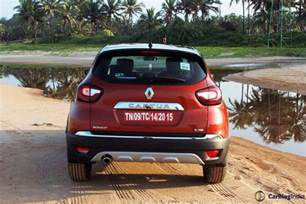 Renault Test Drive Renault Captur Test Drive Review With Price