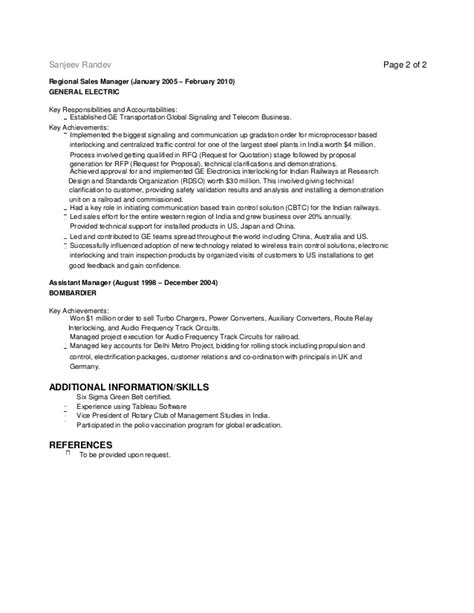 Electrical Engineer Doing Mba by Sanjeev Randev Resume Electrical Engineer Mba 2014