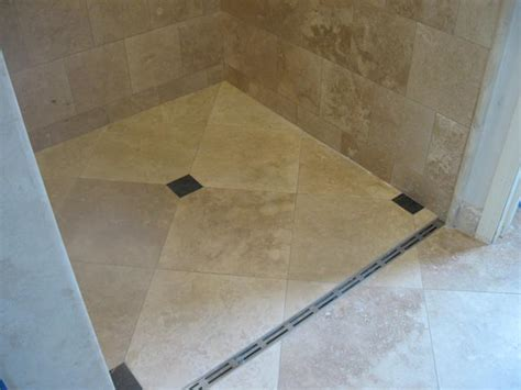 bathroom channel drain linear trench drain installation los angeles ca shower patio remodeling contractor
