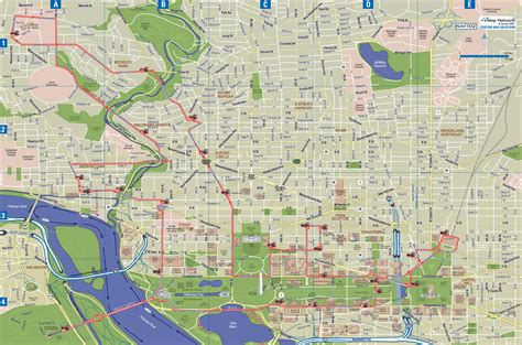 washington dc map picture maps update 700495 washington dc tourist map printable